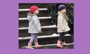 Τα απίστευτα γαλοτσάκια των διδύμων της Sarah Jessica Parker!