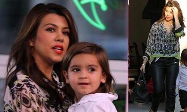 Kourtney Kardashian: Στο μουσείο με τον Mason