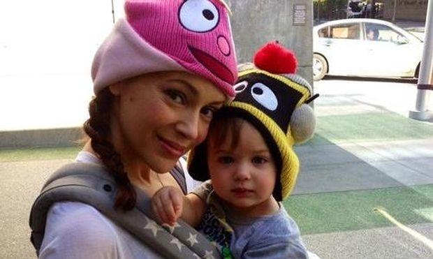 Η Alyssa Milano και ο γλυκός γιος της