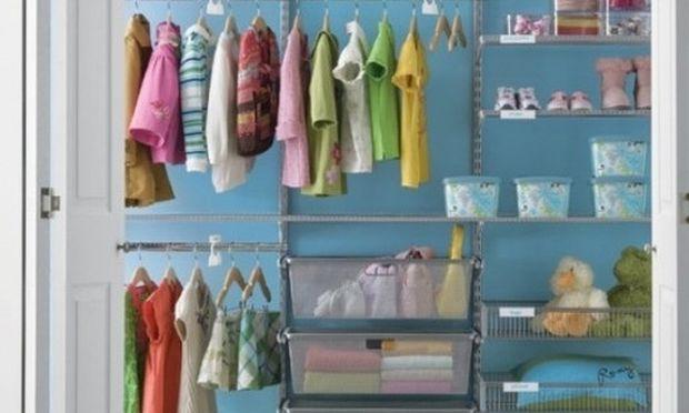 Οργανώστε με τον καλύτερο τρόπο την ντουλάπα του παιδιού σας!