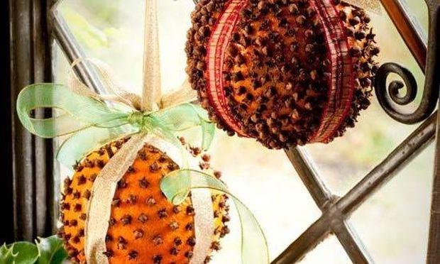 Στολίδια από… φρούτα!