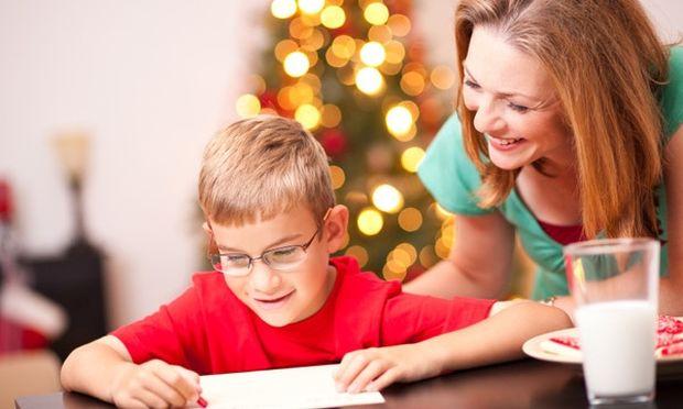 Γράψτε ένα γράμμα στον Άγιο Βασίλη μαζί με τα παιδιά σας