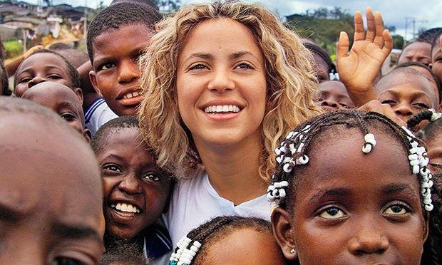 Το ίδρυμα της Shakira ανοίγει το έκτο σχολείο του στην Κολομβία