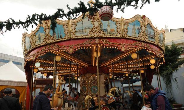 Το Χριστουγεννιάτικο Χωριό 2 στο Λούνα Πάρκ τα Αηδονάκια στηρίζει το Χαμόγελο του Παιδιού