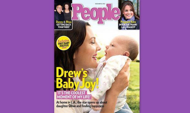 Η Drew Barrymore παρουσιάζει την Olive!