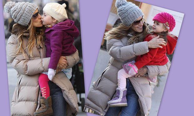 Sarah Jessica Parker: Τρυφερές στιγμές με τις κόρες της