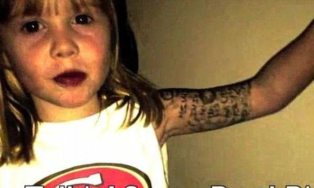 Η 5χρονη ράπερ που έχει ξετρελάνει το χώρο του αμερικανικού ποδοσφαίρου (Video)