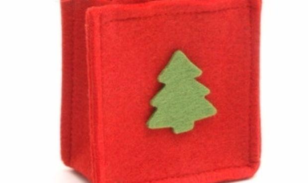 Υπέροχη θήκη για τα μαχαιροπήρουνα του Χριστουγεννιάτικου τραπεζιού σας!