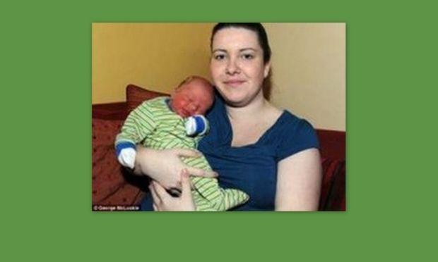 Σοκ! Μητέρα γέννησε σε θερμοκρασία -4 βαθμούς!