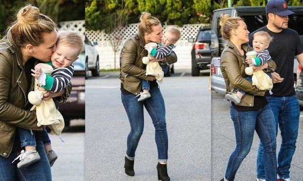 Τα τρυφερά φιλιά της Hilary Duff στον γιο της και τα πρώτα Χριστούγεννα μαζί του!