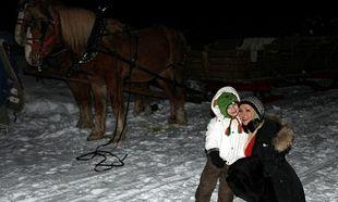 Christina Aguilera: Με τον μικρό της πρίγκιπα στα χιόνια!