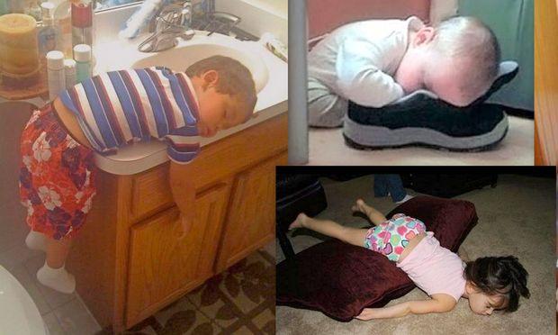 Τα πήρε ο ύπνος κι έγειραν... όπου βρήκαν!