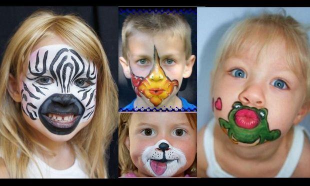 Απίθανα face paintings με χιούμορ και φαντασία