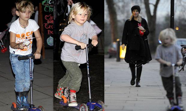 Οι γιοι της Gwen Stefani και οι πρώτες ρόδες τους