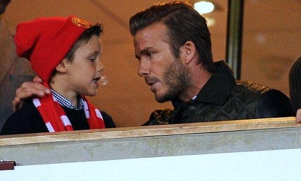 Όταν ο Beckham δίνει πατρικές συμβουλές στα παιδιά του!