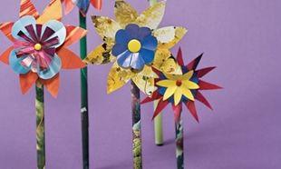 Λουλουδάκια που δεν μυρίζουν, αλλά διακοσμούν το παιδικό δωμάτιο!