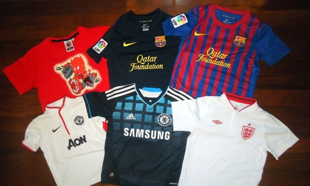 Μίλαν, Barca, Μάντσεστερ, Chelsea! Η συλλογή μου...