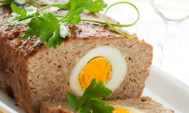 Τέλειο ρολό κιμά γεμιστό με αυγό!