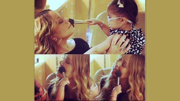 Mariah Carey: Μαθαίνει την κόρη της τα μυστικά του μακιγιάζ!