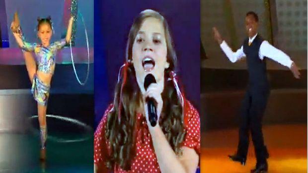 Τα τρία πιο ταλαντούχα παιδιά του κόσμου: Δείτε τι κάνουν!