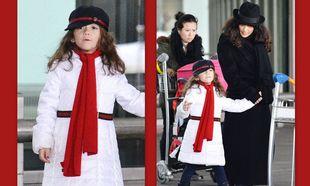 Η κόρη της Salma Hayek ντυμένη από πάνω μέχρι κάτω με Gucci