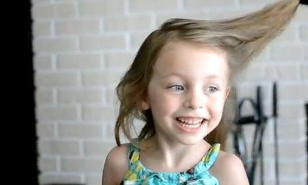 Βίντεο: Η γυναίκα του του ζήτησε να φτιάξει τα μαλλιά της μικρής τους. Δείτε τι της έκανε…