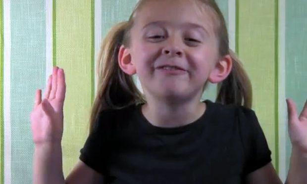 Βίντεο: Η Greyson εξηγεί πώς είναι να είσαι 5 χρονών