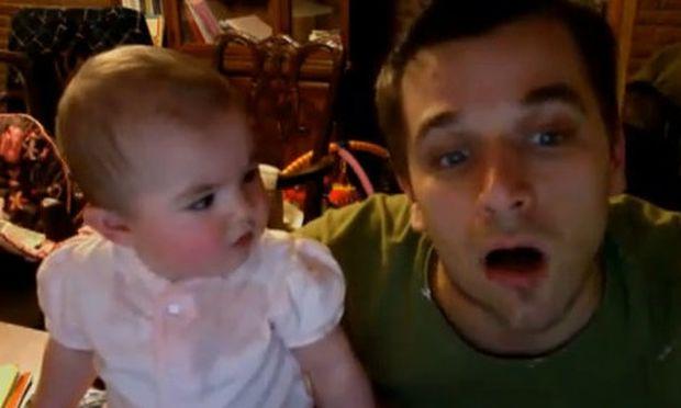 Video: Ο μπαμπάς μου… τρελάθηκε!
