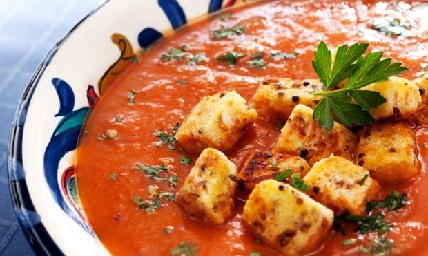 Μμμμ… ντοματόσουπα από… βελούδο!