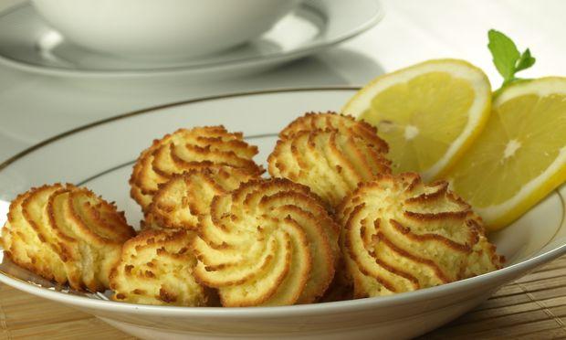 Τέλεια μυρωδάτα μπισκότα λεμονιού!