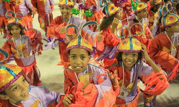 Το καρναβάλι του Ρίο δεν είναι μόνο για τους μεγάλους!