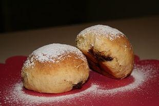 Μμμμ… Γλυκά ψωμάκια γεμιστά με πραλίνα!