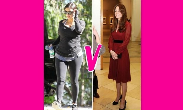 Kate Middleton Vs Kim Kardashian: Οι δύο έγκυες αντιμέτωπες!