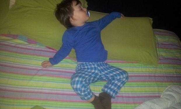 Θέλω να κοιμάμαι άνετα....