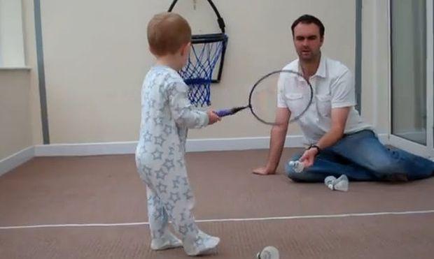 Ένας επαγγελματίας τενίστας ετών… δύο!