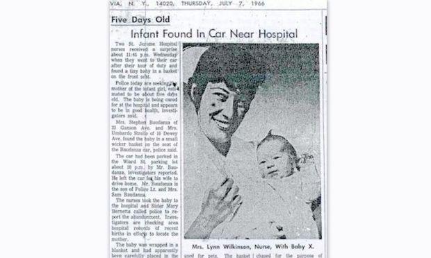 Μία παλιά ιστορία του 1966: Μωρό βρέθηκε εγκαταλελειμμένο στο πίσω κάθισμα αυτοκινήτου