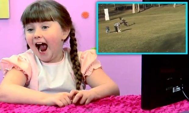 Πώς αντιδρούν τα παιδιά στο βίντεο του αετού που άρπαξε το μωρό!