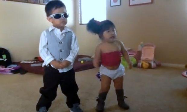 Βίντεο: Το πιο απίθανο δίδυμο του gangnam style!