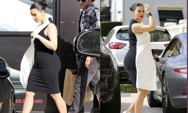 Kim Kardashian: Φουσκώνει, στρογγυλεύει αλλά είναι πάντα σικ! (φωτό)