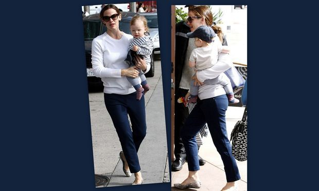 Jennifer Garner: Για φαγητό με τον λατρεμένο της γιο!