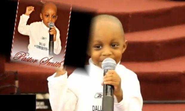 Βίντεο: Ιεροκήρυκας ετών... τριών!