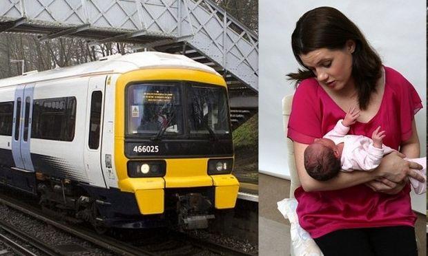 Αληθινή ιστορία: Γέννησε την κόρη της μέσα στο τρένο! (φωτό)