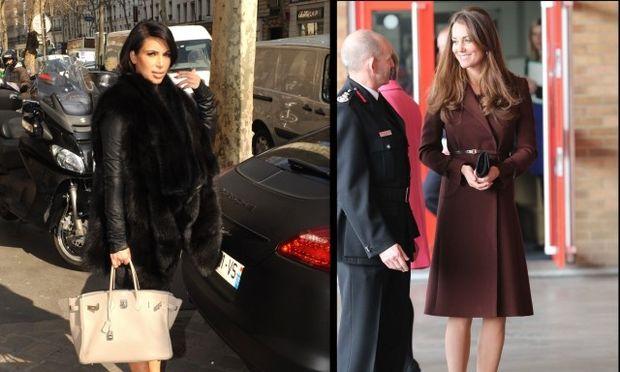 Kim Kardashian Vs Kate Middleton: Ποια έγκυος κερδίζει τις εντυπώσεις με το ντύσιμό της;
