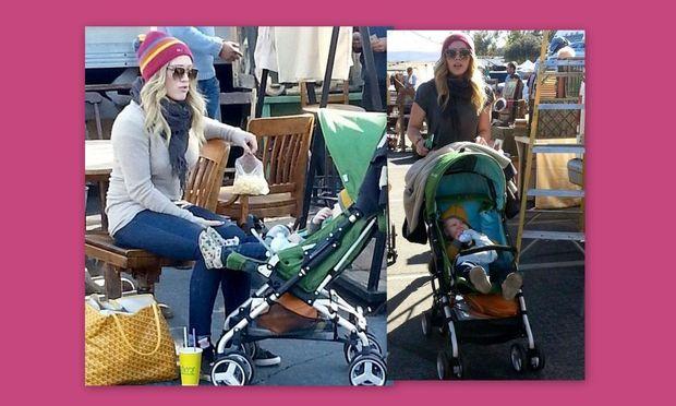 Hillary Duff: Με το γιο της στο πάρκο!