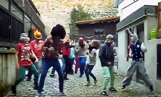 Harlem Shake α λα γερμανικά!