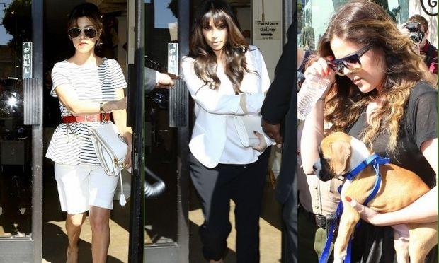 Οικογένεια Kardashian: Ψωνίζουν βρεφικά από εκπτωτικό παζάρι!