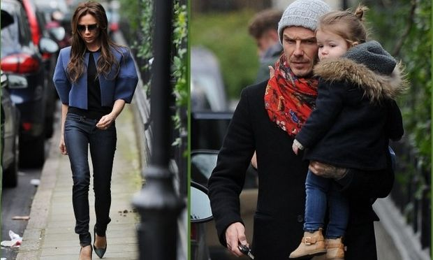 Η Harper φοράει skinny jean σαν τη μαμά της Victoria!
