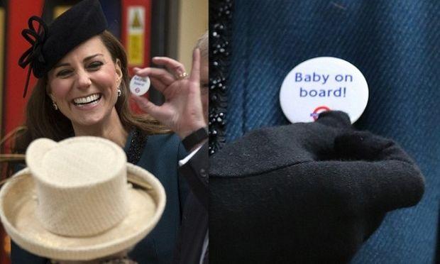 Kate Middleton: Της χάρισαν κονκάρδα «baby on board» (περιμένοντας παιδί!)