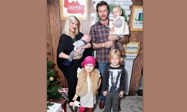Μία μοναδική στιγμή για την οικογένεια της Tori Spelling