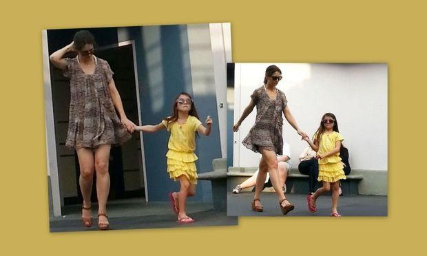 Katie Holmes: Με την Suri στη Ντίσνεϊλαντ